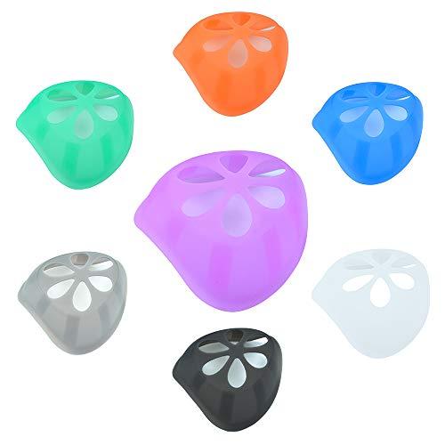 7 st MOAMUN fäste för ansiktsskydd, 3D-silikonfäste för bekvämt att bära och skapa mer andningsutrymme, perfekt storlek ansiktsskydd inre stödram