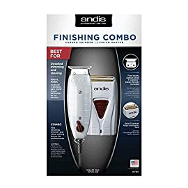 - 410wrlKvaAL - Andis Finishing Combo Trimmer + Shaver