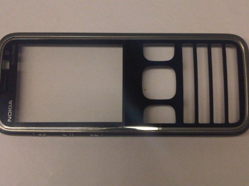 Nokia original A-Cover Frontcover 5630 xpressmusic schwarz-chrome