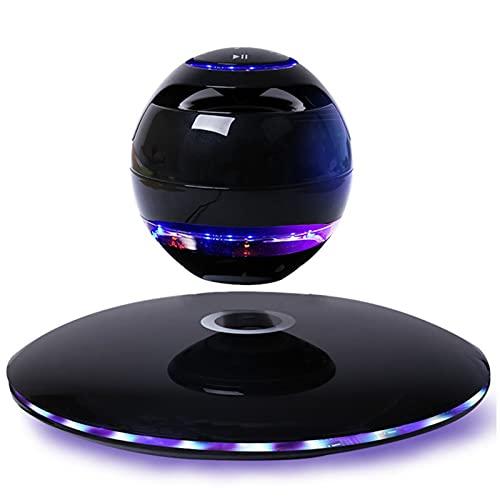 IYUNDUN Altavoz Levitante Magnético, Altavoces Bluetooth Portátiles, Luz Nocturna LED, Sonido Estéreo/Llamada con Manos Libres/Micrófono Incorporado, para Decoración del Hogar/Oficina (Color :