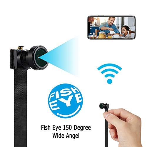 WiFi Wireless Camera Spy, Hidden IP 4K HD Cam, Mini Home Security Camera, Night Vision/Motion Detection Camera with App