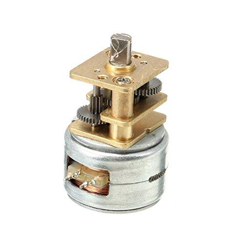 MASUNN 5-12V 2 Phasen 4 Motorsense Brushless Gear Motor
