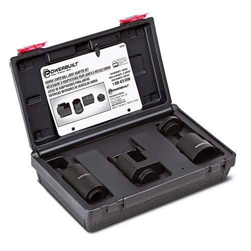 Powerbuilt 641321 Lower Ball Joint Adapter Kit for Honda