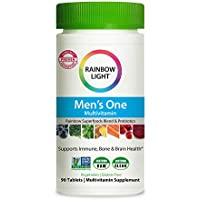 90-Count Rainbow Light Men's One High Potency Multivitamin