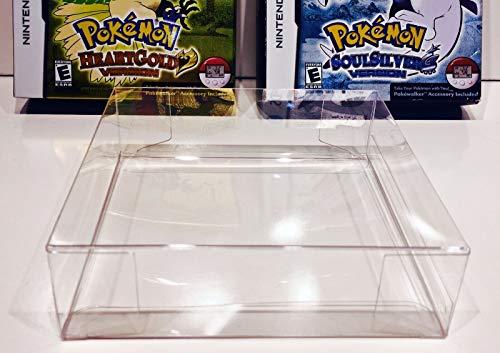Lot de 5 boîtes de protection pour coque Pokémon Heartgold/Soulsilver NTSC uniquement.