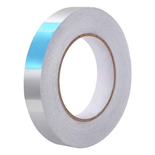 Sourcingmap - Nastro adesivo in alluminio resistente al calore ad alta temperatura