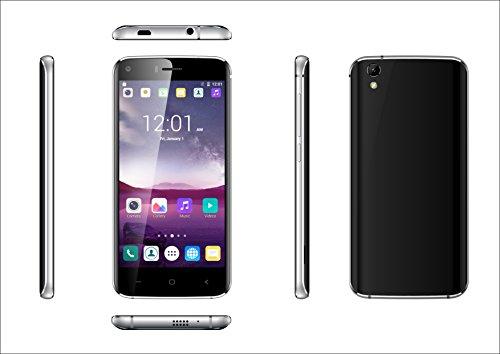 Smartphone INFINITON T5 (Negro), Quad-Core 1.3GHz, Pantalla 5.0