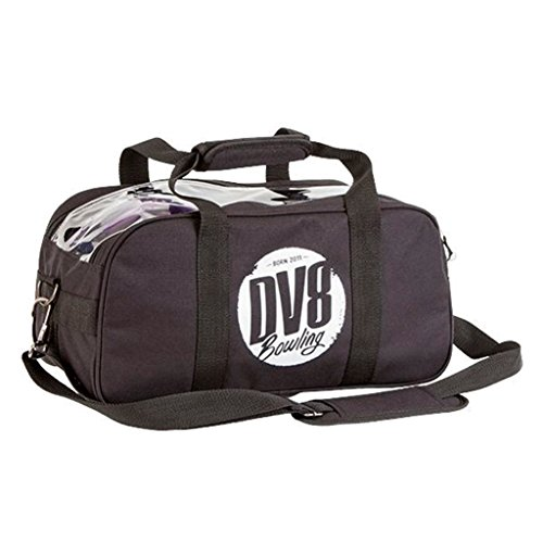 DV8 Tactic Double Tote kein Schuh Tasche Bowling Bag, Schwarz