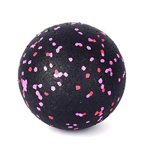 8 cm Densidad de Alta Densidad epp Bola de Masaje Ligero Negro Fitness Entrenamiento Lacrosse Ball Cuerpo Yoga Deporte Ejercicio Unisex - 1pc (Color : Pink)