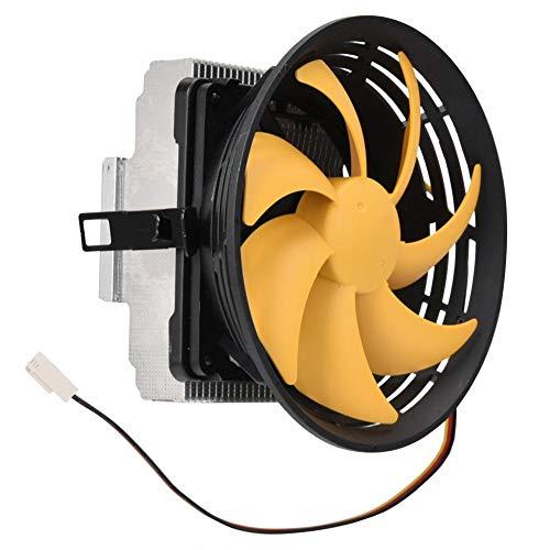 Hyuduo1 Ventilador de enfriamiento de CPU de 12 cm, disipador de Calor de computadora de 56.1CFM, disipación de Calor rápida, Ventilador de enfriamiento de computadora silencioso con Amortiguador