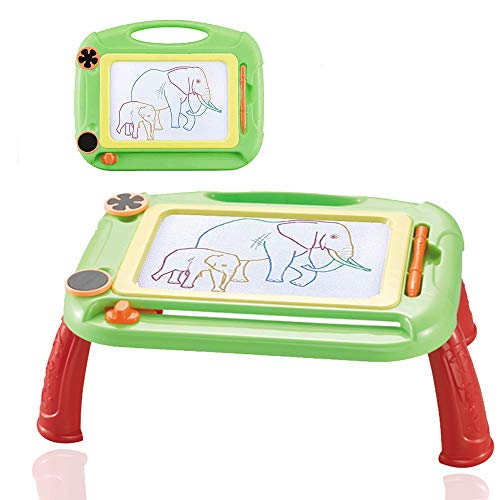 Kids Toys for 1-7 Years Old Boys, Toddler Magnetic Drawing Doodle Board Writing Painting for Age 2 3 4 5 6 Boys Birthday Gift Green