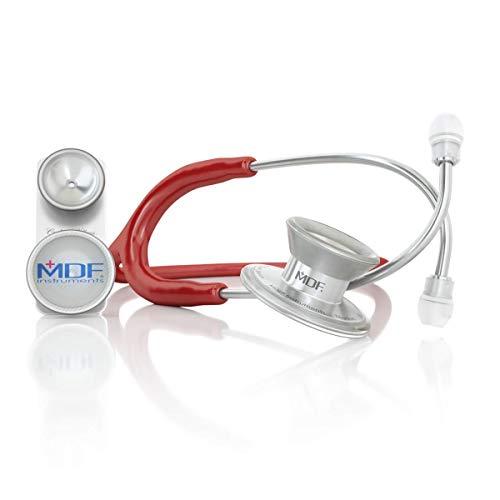 MDF® MD One® Epoch Estetoscopio Titanio - Garantía de por vida & Programa-piezas-gratuitas-de-por-vida - Borgoña (MDF777DT-17)