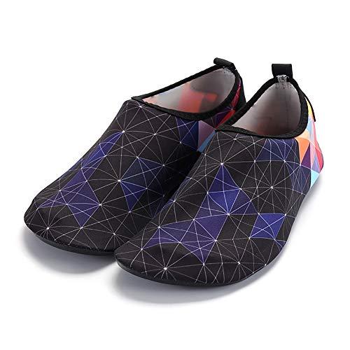 Ohhome Zapatos de Agua Ligero Antideslizante Secado rápido Calcetines Antideslizantes Calzado Playa...