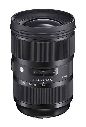 Sigma AF F2 DG HSM 24 - 35 mm Lens for Nikon-Black