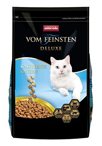 animonda Vom Feinsten Deluxe Adult Katzenfutter, Trockenfutter für kastrierte Katzen, aus Geflügel, 1,75 kg