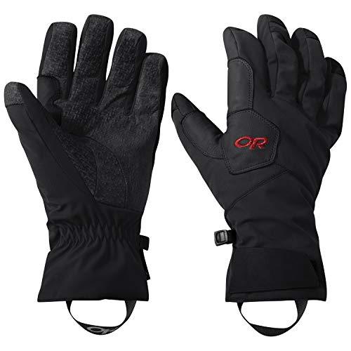 Outdoor Research Bitterblaze Aerogel Gloves Größe M Black/Tomato