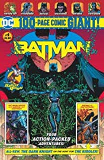 DC Batman Giant #4 100 PG Walmart Exclusive Comic Book - New Story Featuring The 1st App of Ginny Hex Jonah Hex's Great-Great Grand-Daughter + Harley Quinn - Hush - & Nightwing