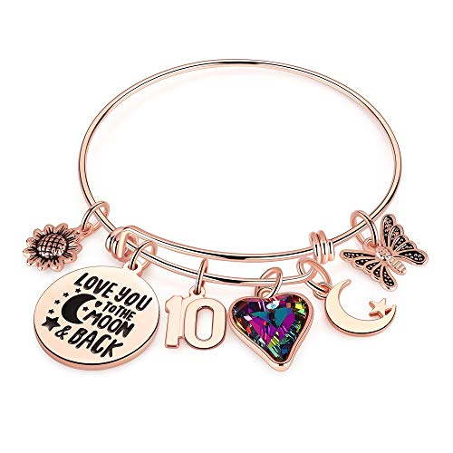 Personalized jewelry are special gifts for 10 year old girl