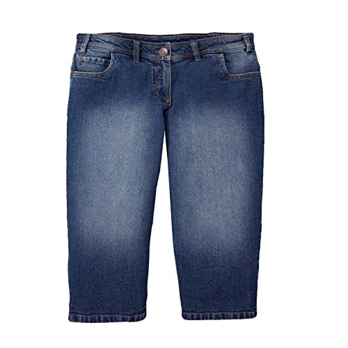 Up2Fashion Caprijeans Jeans Damenhose Hose Capri Übergröße Gr. 54