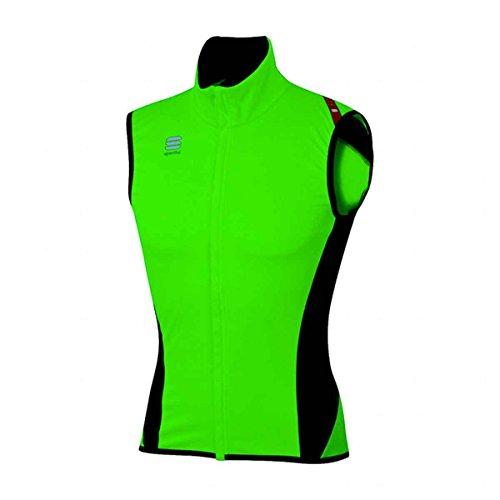Chaleco Sportful Fiandre Light Wind Verde-Negro 2017