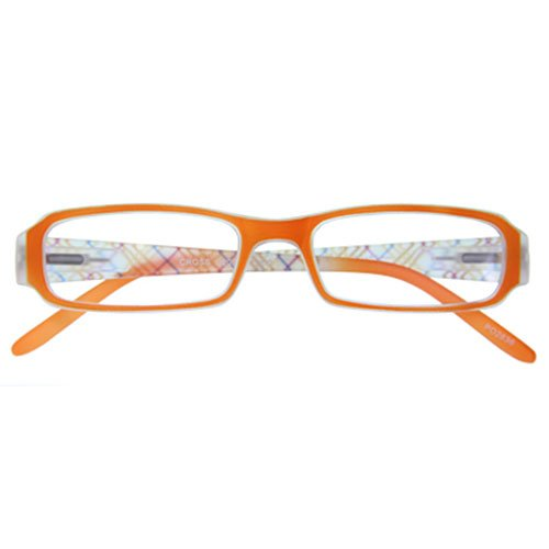 I NEED YOU leesbril Cross SPH: 1.00 Kleur: oranje, 1 stuk