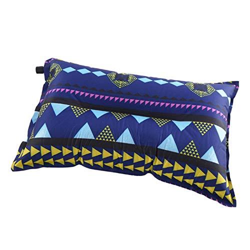 N\C Al aire libre portátil inflable inflable almohada ocio tienda camping almuerzo descanso almohada ultraligero viaje almohada
