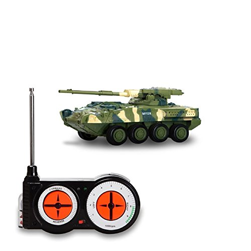 Rely2016 Remote Control Mini Battle Tank Toys Land Armor Tank Car RC Military Model Toy for Kids Children Birthday Christmas