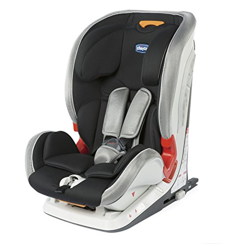 Chicco 00079210310000Seggiolino Auto Youn iverse Fix Misura 1/2/3Special Edition, Grigio