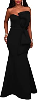 Best black strapless mermaid gown Reviews