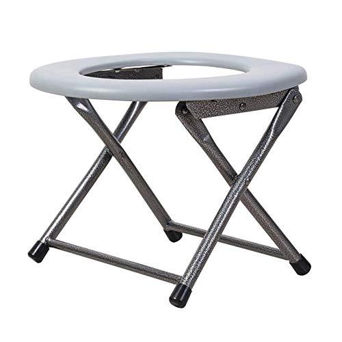 MY1MEY Kommode Stühle Klapp Toilettensitz Stuhl Tragbare Toilette Hocker Kommode Töpfchen für ältere Schwangere Patienten Camping Wandern Reise Mobil 30 cm Hocke Toilette