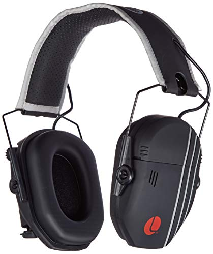 Lucid Audio AMPED Sound Amplifying Hearing Headphones - Black/Gray On-The-Ear