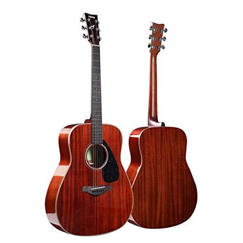 Instrumentos musicales Guitarra eléctrica Yamaha FG850 Junta Folk eléctricos Box Principiante Hombres...