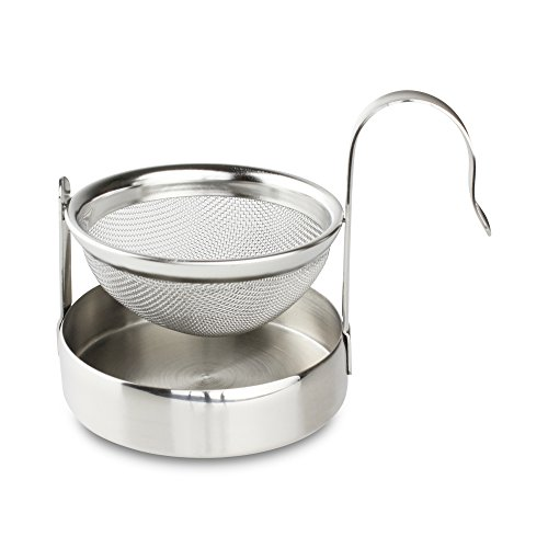 Café Olé Tea Infuser, Stainless Steel, 8.5 x 5.7 x 6.2 cm