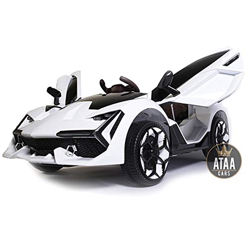 Coche eléctrico para niños Grande batería 12v con Mando ATAA F1 Racing -...
