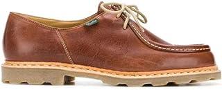 Luxury Fashion | Paraboot Men MICHAEL181103 Brown Leather Lace-up Shoes | Season Permanent