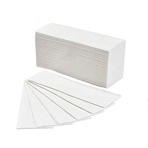 Palucart® 3750 Asciugamani piegati a z asciugamani di carta per dispenser piegati a Z misura 20,5 x 24 cm microgoffrato pura cellulosa interfogliati