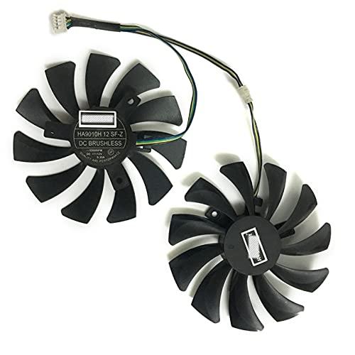 GPU refrigerador Alternativo Tarjeta de gráficos Ventilador para Sparkle RX570 4G D5 P106 GTX 1060-6G D5 GA RX 480 4G D5 GA Tarjetas Reemplazo
