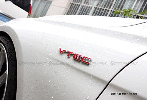 B151 VTEC rot auto aufkleber 3D Emblem Badge Abzeichen Schriftzug car Sticker Abziehbild