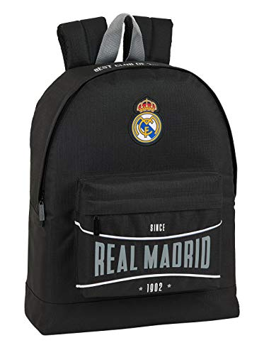 Mochila Safta Juvenil de Real Madrid, 325x150x430mm