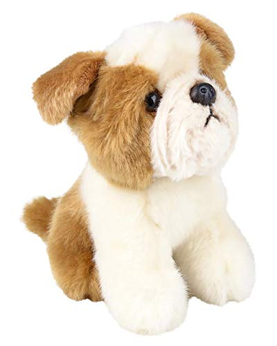 Edgewood Toys 6-inch English Bulldog Stuffed Animal – Ultra Soft Stuffed Bulldog Plush – Mini Design Great for Little Hands to Carry – Great Room Décor for Any Bulldog Lover