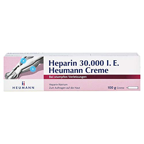 HEPARIN 30.000 Heumann Creme 100 g
