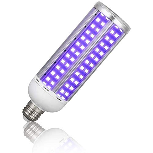 Fankr desinfectielamp, LED, UV ultraviolett, steriliserend, 18 W, 25 W, 30 W, 40 W, 220 E27, kiemd licht, UV-C desinfectie, zonder ozon, met afstandsbediening