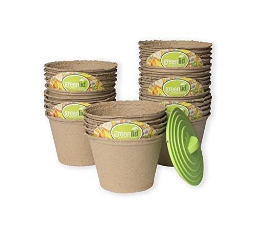 Greenlid Compostable Compost Bin - Starter Kit (30 Pack + Reusable