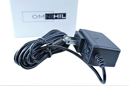8 Feet Omnihil AC/DC Power Adapter 9V 1.5A (1500mA) 3.5x1.35millimeters, 4.0x1.7millimeters, 4.8x1.7millimeters Regulated/UL Listed/FCC Certified (Compatible with Many Models)