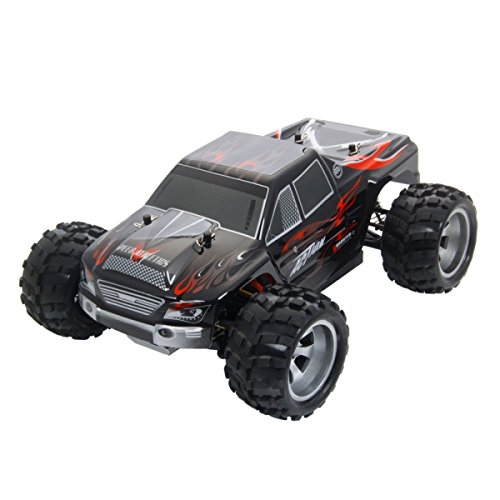 Wltoys A979 Vortex 1/18 2.4G 4WD Electric RC Car Monster Truck RTR Red