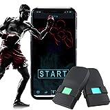 [Updated 2020 Model] Boxing Tracker Sensor,Wearable Smart Punch Boxing Gloves Workout Tracker for Fitness Sport
