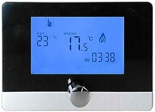 Demino Programable Digital Termostato de Pared regulador de Temperatura de Caldera de Gas Sistema de calefacción del termostato LCD 5A
