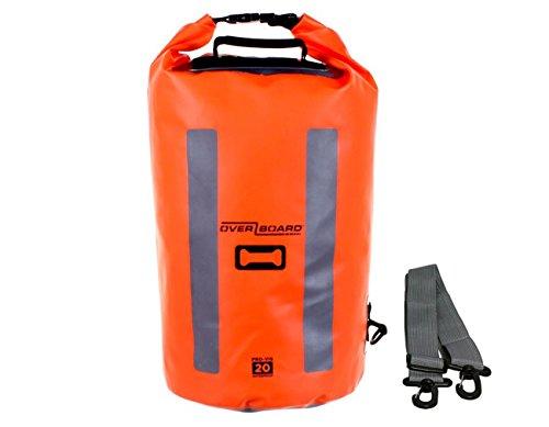 Overboard Pro Vis Dry Tube - 20 Ltr - Hi-Vis Orange