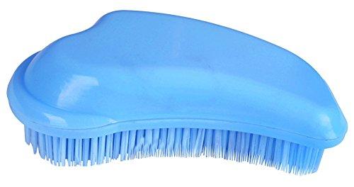 invlechtkam 9 cm blauw