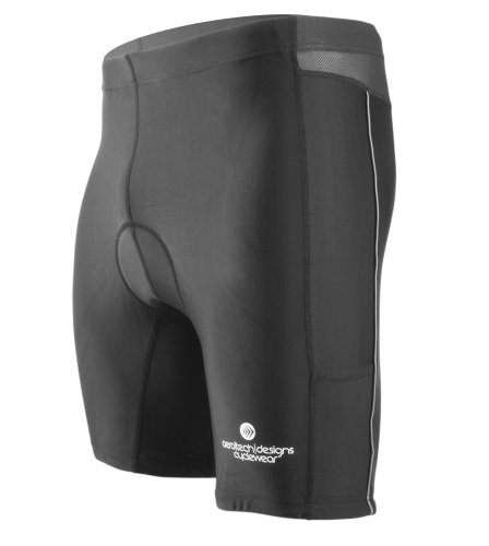 AERO TECH DESIGNS Competition Triathlon Shorts (4XL, Black)